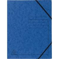 Eckspanner Falken 11286473, A4, aus Karton, Fassungsvermögen: 200 Bl, blau, 5 St