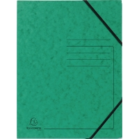 Eckspanner Falken 11286499, A4, aus Karton, Fassungsvermögen: 200 Bl, grün, 5 St