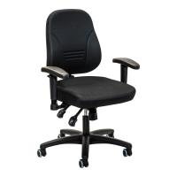 Bürostuhl Prosedia Younico 1402, mittelhohe Rückenlehne, schwarz