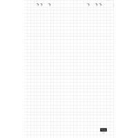 Flipchartblock Lyreco, kariert, Maße: 68 x 99cm, 20 Blatt, 5 Stück