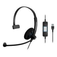 Headset Sennheiser 504548, SC30, USB, schwarz