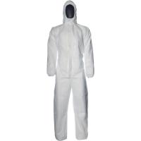 Einwegschutzanzug Dupont Proshield Basic Typ 5/6, Größe: L, weiß