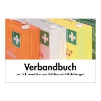 Verbandbuch Söhngen 8001008, bei Betriebsunfällen, A5, grün
