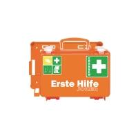 Erste-Hilfe-Koffer Söhngen Joker, mit Füllung, nach DIN 13157, orange