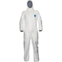 Einwegschutzanzug Dupont Tyvek classic Expert, Typ 5-B/6-B, Größe: L, weiß