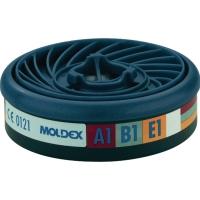 Gasfilter Moldex EasyLock 930001, Typ A1B1E1, 10 Stück