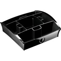 Take a Break Modul CEP 101300, Tisch Dispenser, 21 x 22 x 7 cm (BxTxH), schwarz