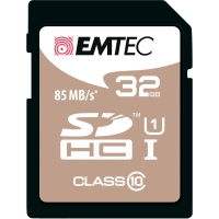 SDHC-Card Emtec Gold 200X/300X ECMSD32GHC10PH, Speicherkarte, 32GB