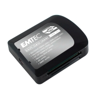 Kartenlesegerät Emtec EKLMFLU03, Universal, schwarz