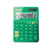 Tischrechner Canon LS-123KSER, 12-stellig, Solar/Batterie, grün
