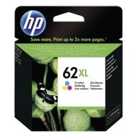 Tintenpatrone HP C2P07AE - 62XL, Reichweite: 415 Seiten, 3farbig