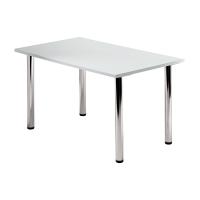 Tischplatte Hammerbacher KP12/5, Größe: 120 x 80 cm (L x B), grau