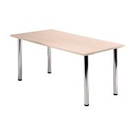 Tischplatte Hammerbacher KP16/3, Größe: 160 x 80 cm (L x B), ahorn