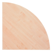 Winkel für Konferenztisch Hammerbacher KP91/3, Maße: 80 x 80 cm (L x B), ahorn