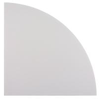 Winkel für Konferenztisch Hammerbacher KP91/5, Größe: 80 x 80 cm (L x B), grau