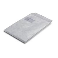 Tyvek-Faltentaschen Bong 11807 C4 229x324mm 20mm-Falte HK mit Fenster weiß 100St