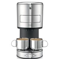 Kaffeepadmaschine WMF Lono, für Kaffee und andere Heißgetränke, silber