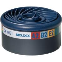 Gasfilter Moldex EasyLock 980001, Typ A2B2E2K2, 8 Stück