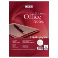Kanzleipapier Landre 432025026, holzfrei, A3/A4, kariert, 250 Blatt