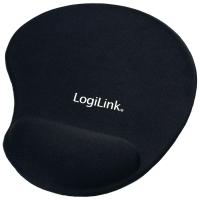 Mauspad Logilink ID0027, stark haftende Unterseite, schwarz