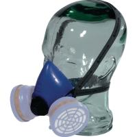 Atemschutzmaske Deltaplus M3200BL, Typ: Halbmaske, blau
