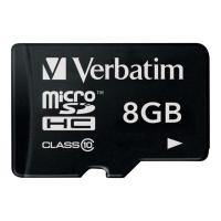 SDHC-Card Verbatim 44012, Class 10, 8 GB