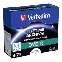 DVD R Verbatim 4,7GB, Schreibgeschwindigkeit: 16x, Jewel Case, 5 Stück