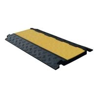 Kabelbrücke Viso CP1001, 910 x 500 x 45mm, 13,9kg, schwarz/gelb
