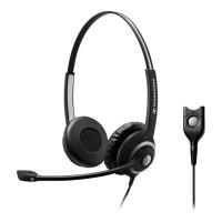 Headset Sennheiser SC260 Telefon, schwarz