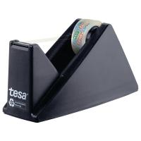 Tischabroller Tesa 59327 + 1 Klebefilm 15mm x 10m, schwarz