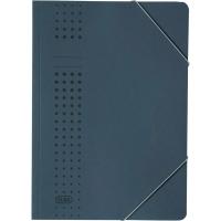 Eckspanner Elba 33470, A4, aus Karton, Fassungsvermögen: 150 Blatt, dunkelblau