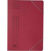 Eckspanner Elba 33470, A4, aus Karton, Fassungsvermögen: 150 Blatt, bordeaux