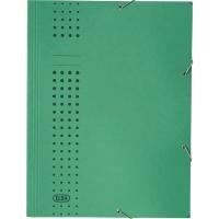 Eckspanner Elba 33470, A4, aus Karton, Fassungsvermögen: 150 Blatt, grün