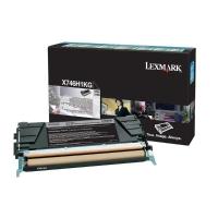 Rückgabetoner Lexmark X746H1KG, Reichweite: 12.000 Seiten, schwarz