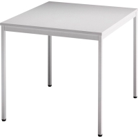 Konferenztisch Hammerbacher VVS08/5, Größe: 80 x 80 cm (L x B), grau