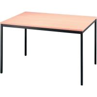 Konferenztisch Hammerbacher VVS12/6, Größe: 120 x 80 cm (L x B), buche
