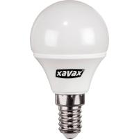 LED-Leuchtmittel Xavax 112217, Glühbirne Miniglobe, Sockel E14, 4 Watt, 2700K