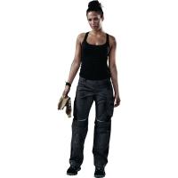 Damenarbeitshose Kübler PULSSCHLAG 2124, Größe: 38, 4 Taschen, anthrazit/schwarz
