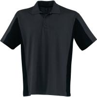 Poloshirt Kübler SHIRTS 5019, Größe: L, anthrazit/schwarz