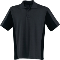 Poloshirt Kübler SHIRTS 5019, Größe: XL, anthrazit/schwarz