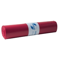 Müllbeutel Deiss 11021, Maße: 700 x 1100mm, Füllmenge: 120l, rot, 25 Stück