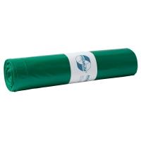 Müllbeutel Deiss 11021, Maße: 700 x 1100mm, Füllmenge: 120l, grün, 25 Stück