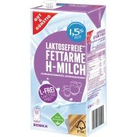 H-Milch, laktosefrei, 1,5% Fettgehalt, 1 Liter