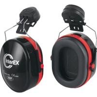Kapselgehörschutz JSP InterEx, für EVO3 Helme, 28dB, rot/schwarz