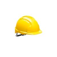 Schutzhelm JSP EVO3 AJE160, aus HDPE, Gleitverschluss unbelüftet, gelb