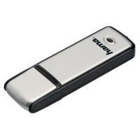 USB-Stick Hama 104308 Fancy, Speicherkapazität: 32GB, silber/schwarz