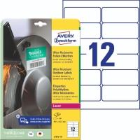 Folien-Etiketten Avery Zweckform L7913, Ultra Resistent (LxB)99,1x42,3mm 120St