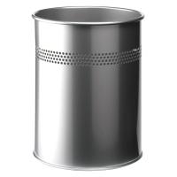 Papierkorb Durable 3310 Metall, 15 l silber
