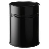 Papierkorb Durable 3310 Metall, 15 l schwarz