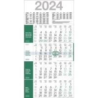 Viermonatskalender 2018 Bühner M4R1, 4 Monate / 1 Seite, 30x59cm, grün